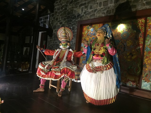 they perform wonderful cultural program at the restaurant