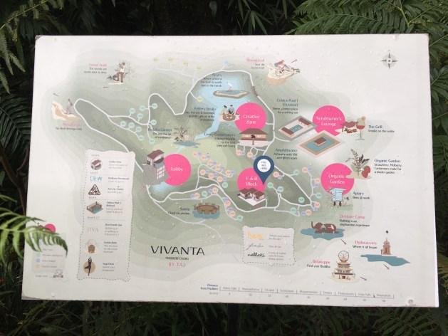 Taj coorg Short map