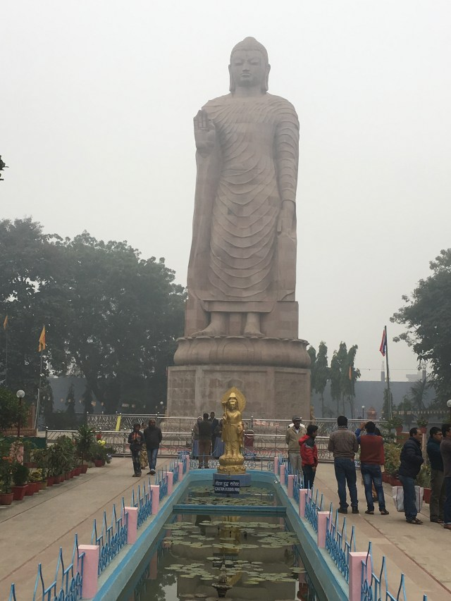 180 feet Buddha statue - the tallest in India.