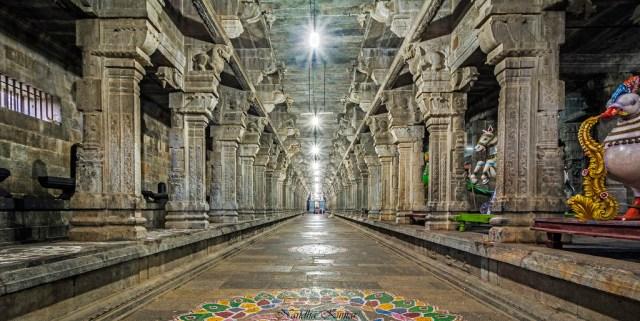 Ekambareshwar Temple inner view
