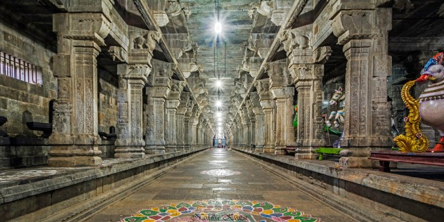 Ekambareshwar Temple inner view