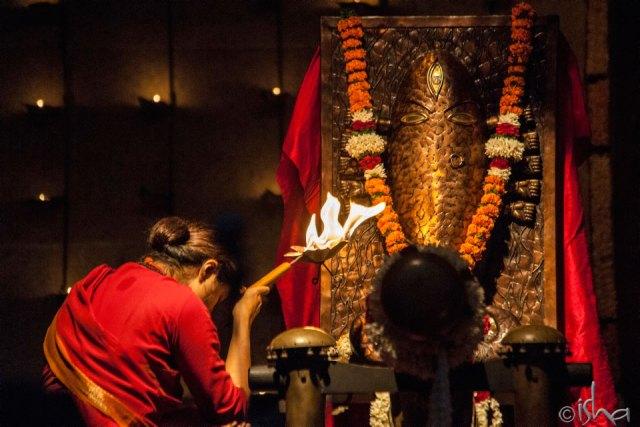 Meditation at Dhyana Linga