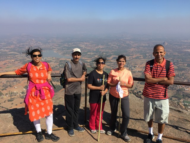 Trekking in Virbhadra temple