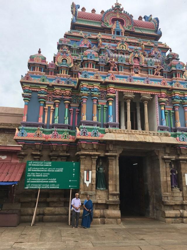 Ranganathaswami temple at Srirangam