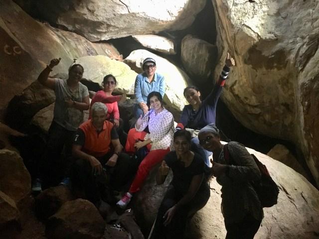Antargana Trek - dark caves