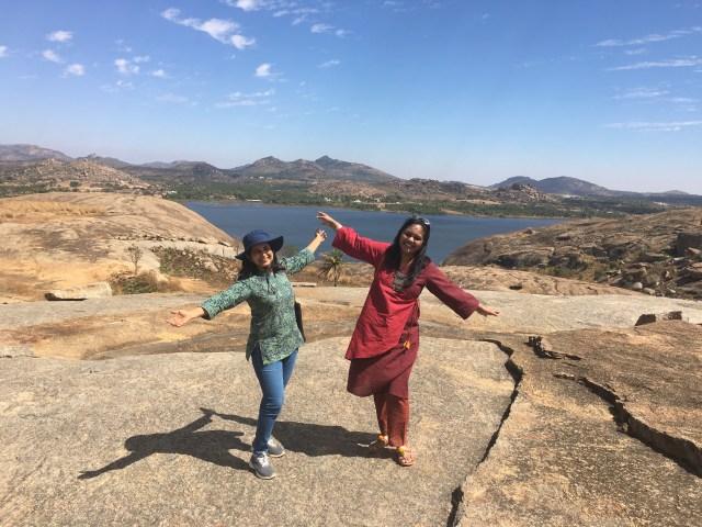 Beautiful lake near Mandargiri