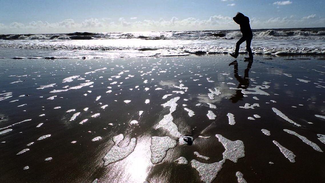 Camperduin, zee, strand