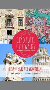 Ciao tutti, city walk, Pisa