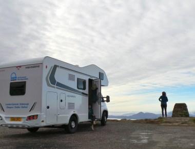 camper, camper huren, rondreis, Schotland