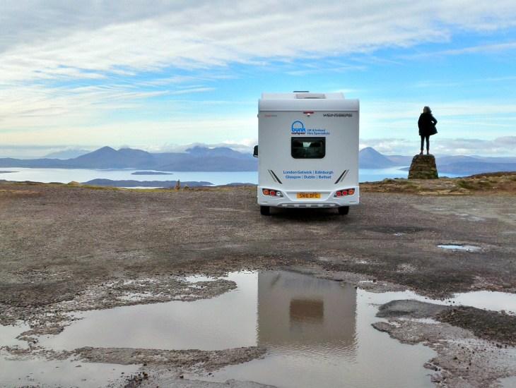 camper, huren, camper huren, Schotland