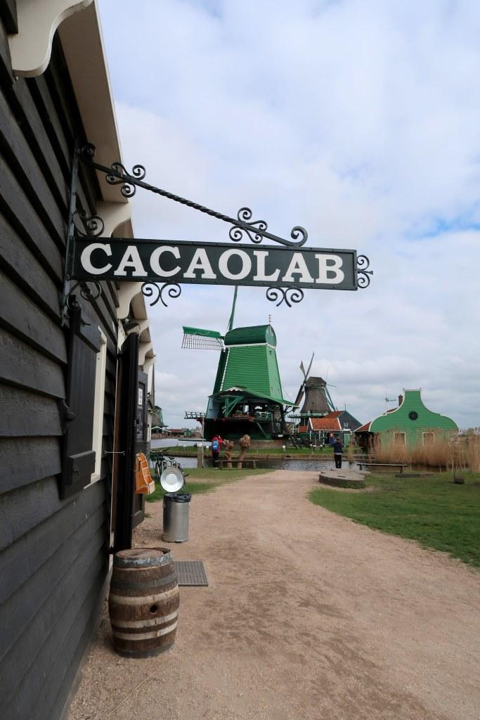Cacaolab, Zaans gedaan, Zaanse Schans, LAag Holland, vakantaseren