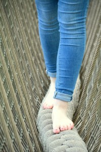 vakantaseren, mooi zutendaal, blote voetenpad