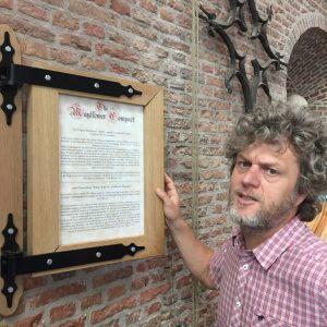 Jeroen Windmeijer, Pilgrim Fathers Complot