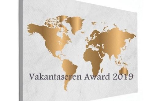 vakantaseren award, wereldkaarten