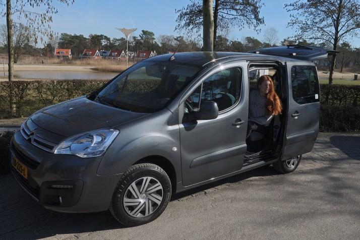Elektrische auto, Citroen E-Berlingo, duurzaam vakantaseren