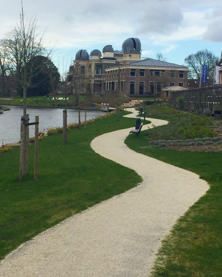 singelpark, wandeling