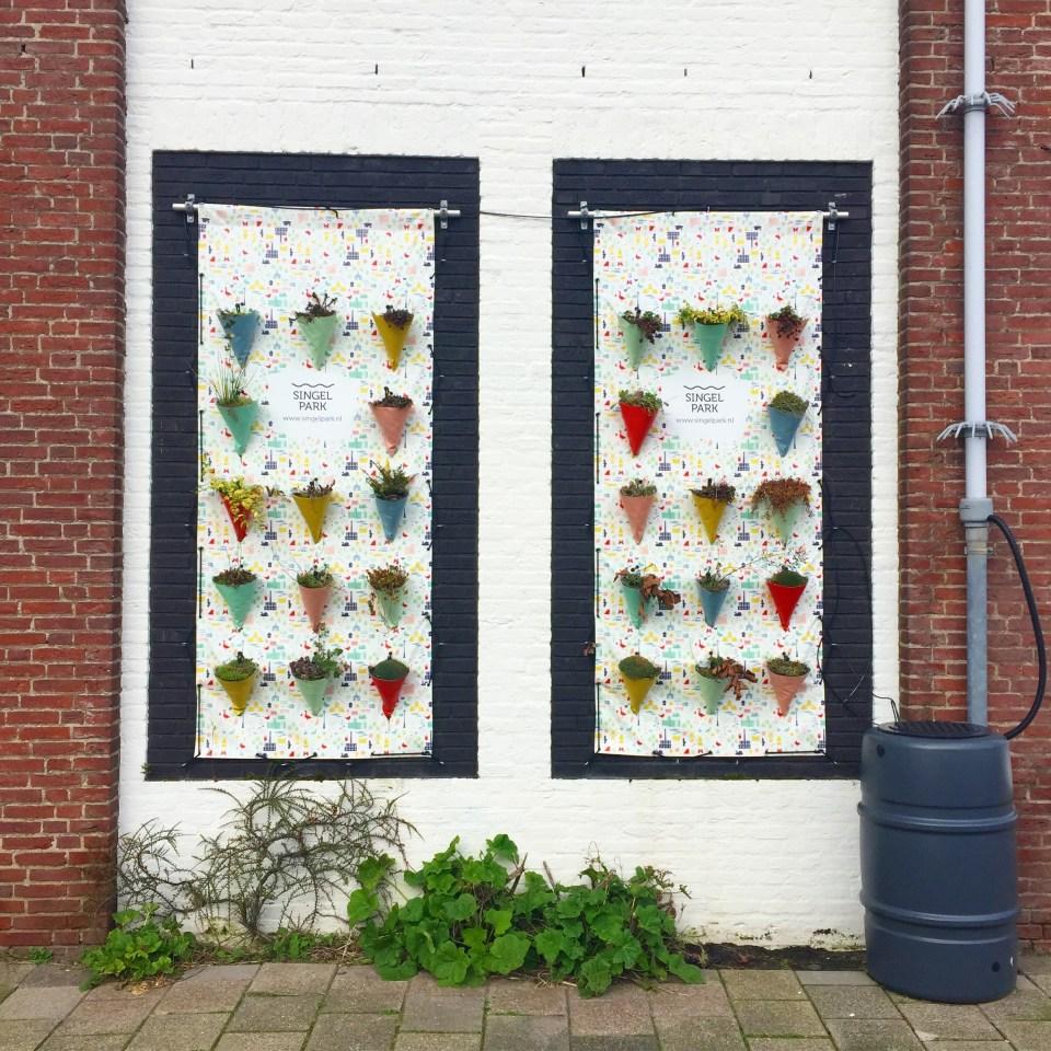 Singelparkroute, Leiden, wandeling