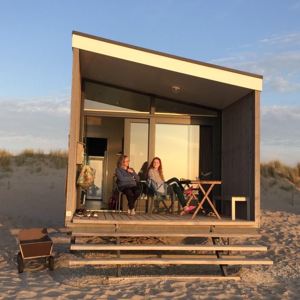 strandhuisje, Kijkduin