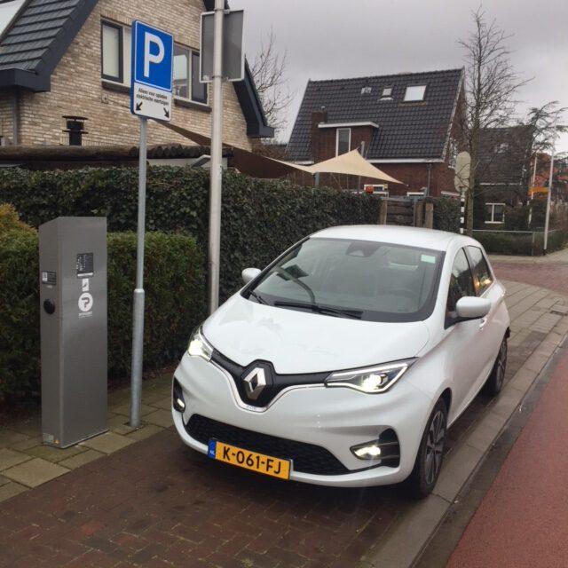 elektrisch huren, Hertz, Renault Zoe