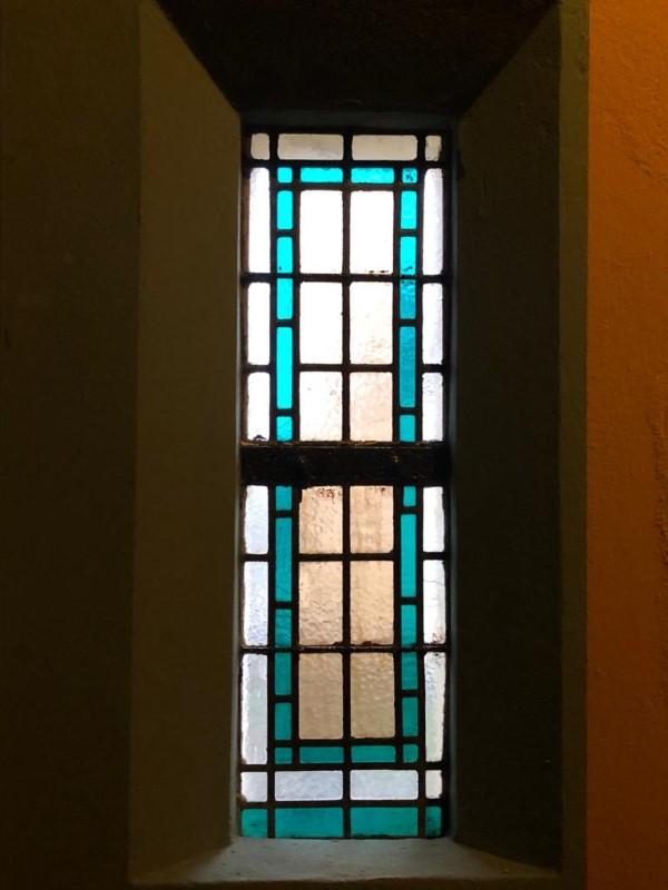 glas in lood, cenakelkerk