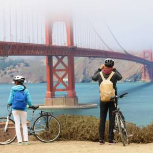 Fietstocht Golden Gate Bridge