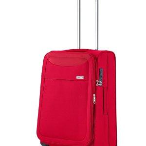 Koffer tussenmaat 4 wielen soft 65 cm