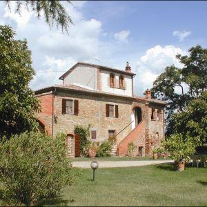 Vakantiehuis in Marciana della Chiana met zwembad, in Toscane.