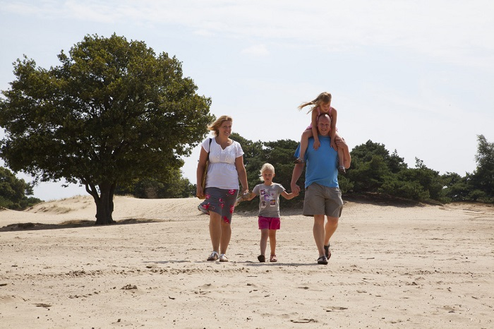 Wandelen met het gezin