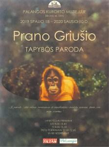 Prano Griušio tapybos paroda @ Palangos kurorto muziejus