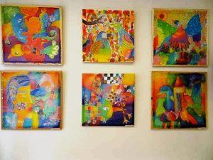 Šilko tapybos paroda, vasario 4, 8 ir 14 d. @ Palangos koncertų salė