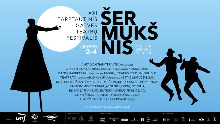 """XXI tarptautinis gatvės teatrų festivalis """"Šermukšnis"""" 07/ 02 – 04"""