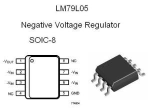 LM79L05ACM SMT NEGATIVE 5v Voltage Regulator | NightFire Electronics LLC