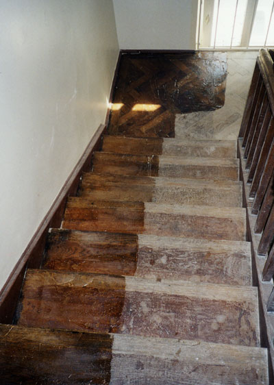Holztreppen - Volkmar Baars - Vakuumwaschservice