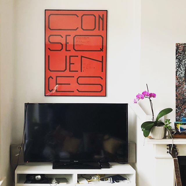 At last I managed to hang my #sotn18 poster! @tassinarivetta