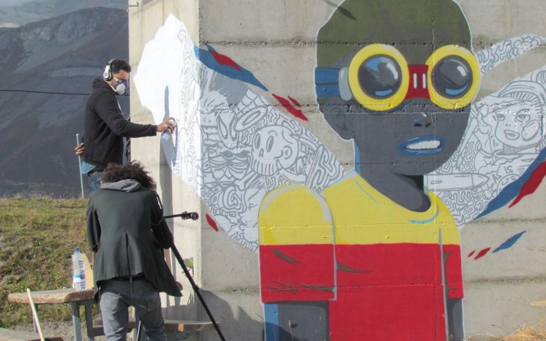 Crans-Montana, Vision Art Festival : la toute toute première fois en 2014 !