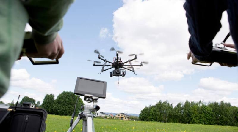 Vol de drone du 26 au 30 avril à Val-au-Perche