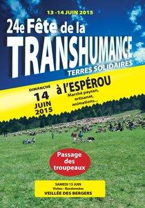 13 et 14 juin fête de la Transhumance