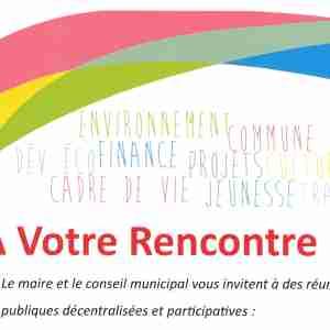 Banderole d'annonce de la bourse aux hameaux 2019
