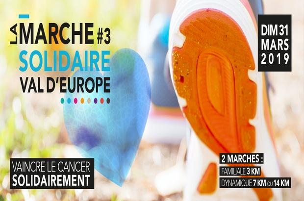 Chessy ► 3ème édition de la marche solidaire du Val d'Europe