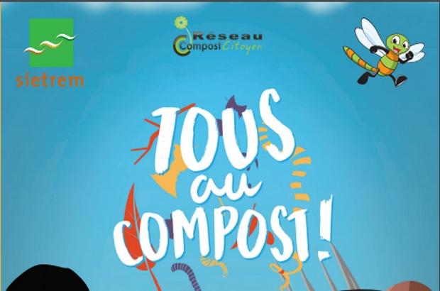 """Montevrain ► Programme des animations """" Tous au compost """" 2019"""