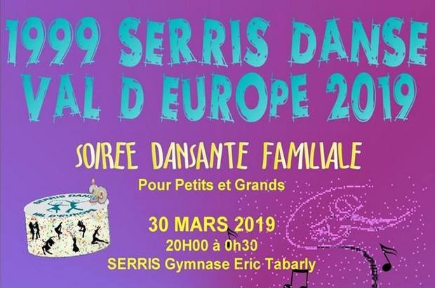 #Serris ► Danse du Val d'Europe fête ses 20 ans avec une soirée dansante