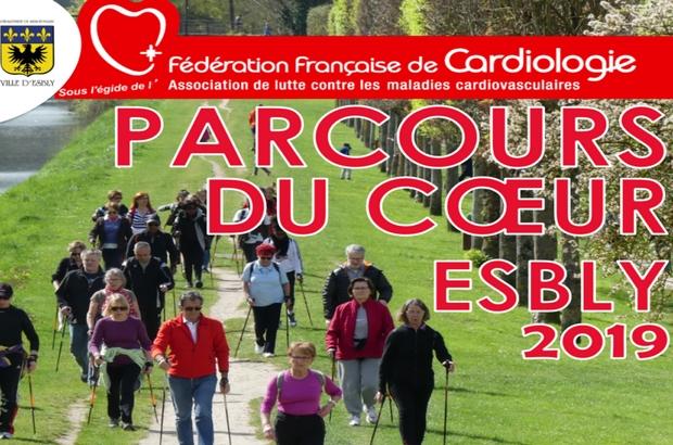 """Esbly ► Les Parcours du coeur, le 6 avril  : """"J'aime mon coeur, je participe! """""""