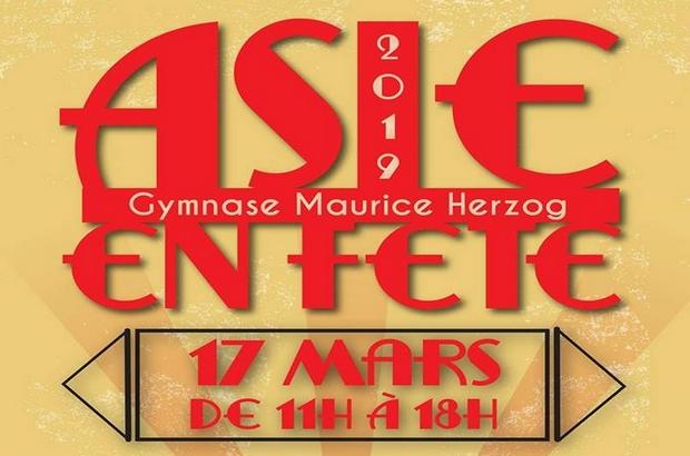 Bussy Saint Georges ► Asie en fête le 17 mars au gymnase Herzog