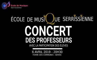 Serris ► Concert de l'Ecole de musique serrissienne  le 6 avril 2019