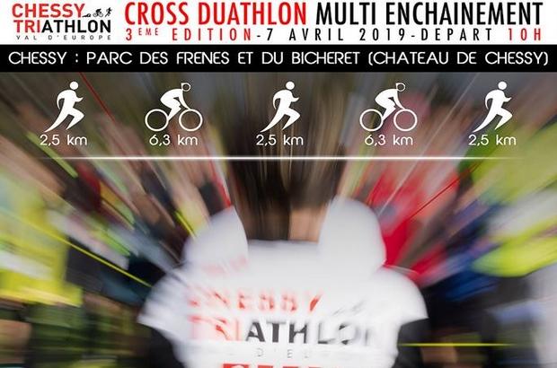 Chessy ►3 ème édition du cross duathlon multi-enchaînement