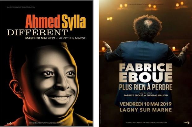 Lagny sur Marne ► Fabrice Eboué et Ahmed Sylla à l'Espace Charles Vanel