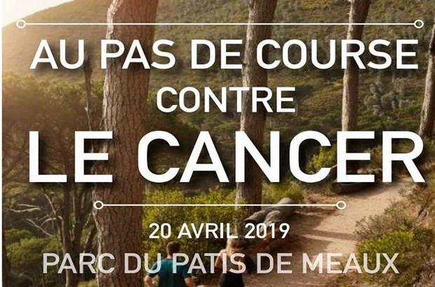 Meaux ►Au Pas de Course contre le Cancer, samedi 20 avril 2019