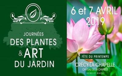 Crécy la Chapelle ►Journées des plantes et art du jardin 6 et 7 avril 2019