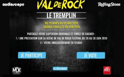 Chessy ► Tremplin Val de Rock 2019, la finale aura lieu Hard Rock Cafe Paris le 6 juin
