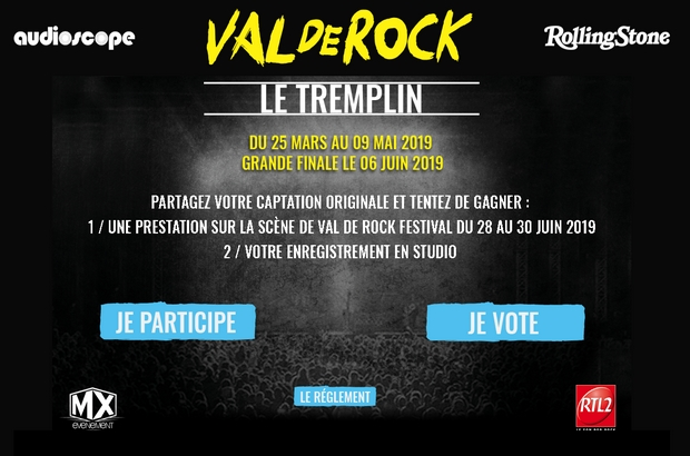 Chessy ► Tremplin Val de Rock 2019, la finale aura lieu Hard Rock Cafe Paris le 6 juin